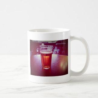 Pint of British ale beer in a pub Mug