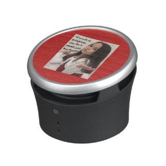 Pint Size Joker: Cheap Crude Oil Bluetooth Speaker