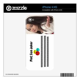 Pint Size Joker: Cut a Rug On Tile Dance Floor Skin For The iPhone 4S