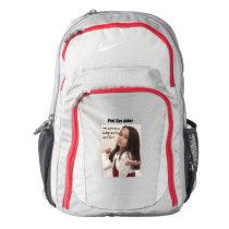 Pint Size Joker: Cute Button Fox Backpack