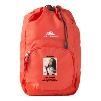 Pint Size Joker: Filet Mignon Lunchbox Backpack