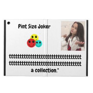Pint Size Joker: Participation Trophy Collection Case For iPad Air