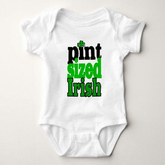 Pint Sized Irish Baby Bodysuit
