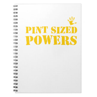 Pint Sized Powers Notebook