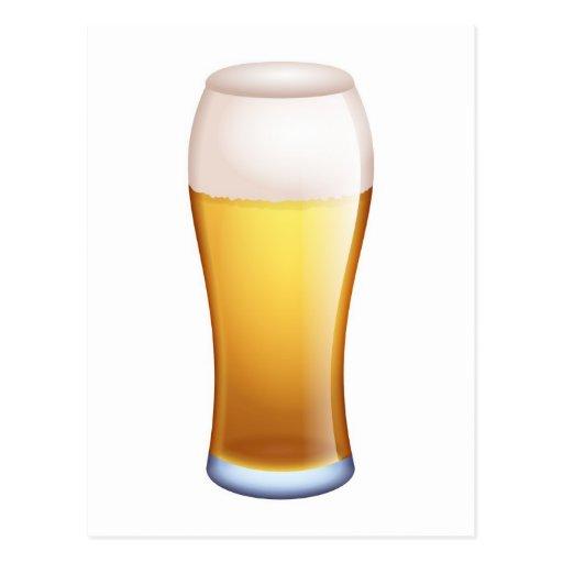 pinta-de-cerveza inglesa postal