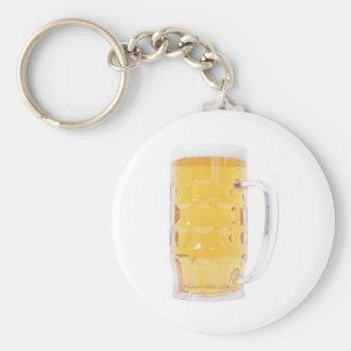 Pinta grande del vidrio de la jarra de cerveza de llavero