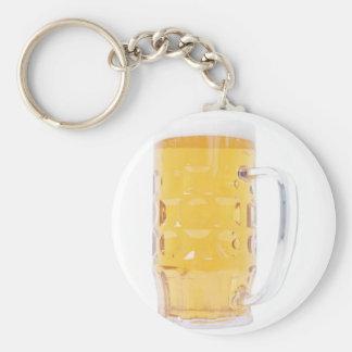 Pinta grande del vidrio de la jarra de cerveza de llaveros