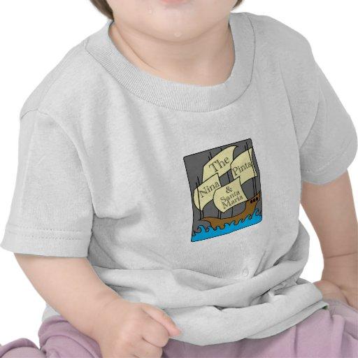 Pinta, Nina, Santa María Camiseta