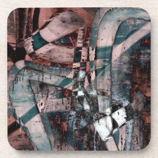 Pintada abstracta posavasos