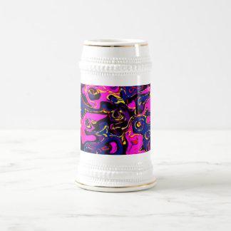 Pintada abstracta tazas de café