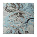Pintada azul azulejo