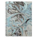 Pintada azul libretas