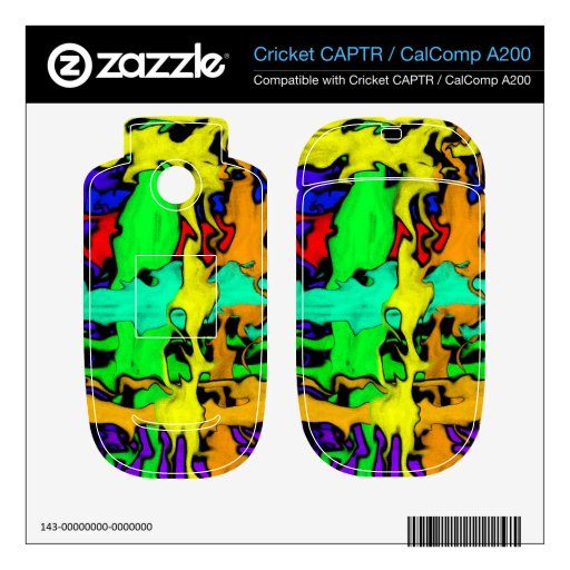 Pintada Cricket CAPTR Calcomanías