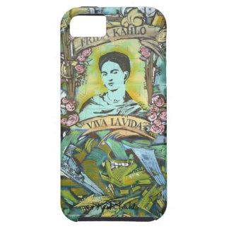 Pintada de Frida Kahlo iPhone 5 Carcasas