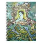 Pintada de Frida Kahlo Libros De Apuntes