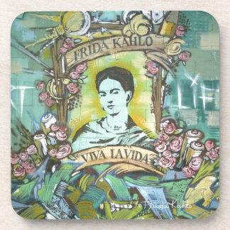 Pintada de Frida Kahlo Posavaso