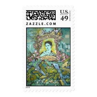 Pintada de Frida Kahlo Sellos Postales
