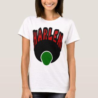 Pintada de Harlem con la cara y el Afro grande, 3 Playera