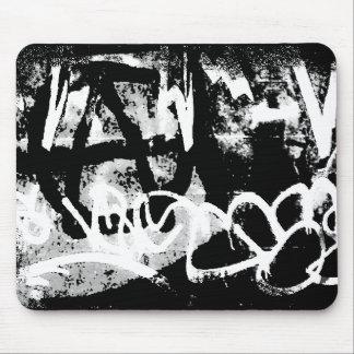 Pintada de la anarquía alfombrilla de ratón
