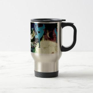 Pintada de la danza de rotura del estilo libre taza de café