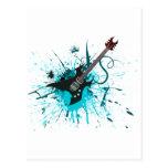 Pintada de la guitarra - alternativa de la banda postal