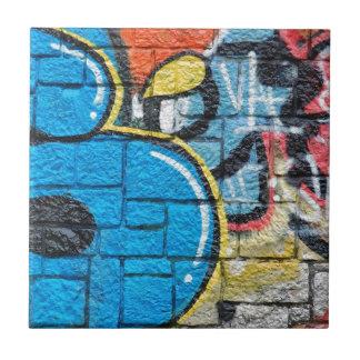 pintada de la pared de piedra azulejo cuadrado pequeño