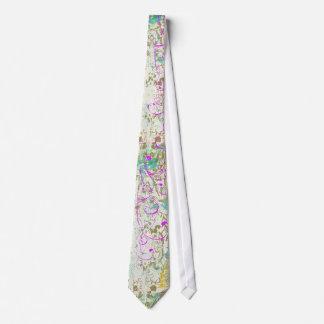 Pintada de la primavera corbatas