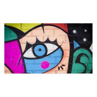 Pintada de la reina/arte del oeste de la calle tarjetas de visita