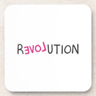 Pintada de la revolución posavasos de bebidas