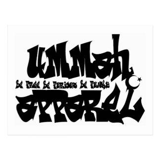 Pintada de la ropa de Ummah Postal