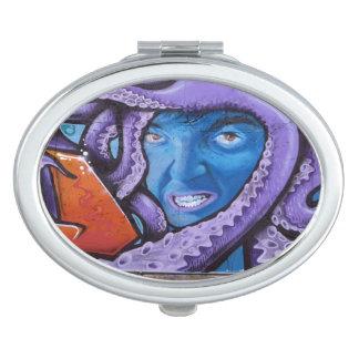 Pintada de los tentáculos del dolor espejos de viaje
