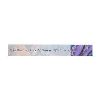 Pintada de los tentáculos del dolor etiquetas postales