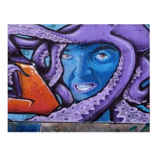 Pintada de los tentáculos del dolor postal