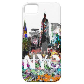 Pintada de Nueva York iPhone 5 Fundas
