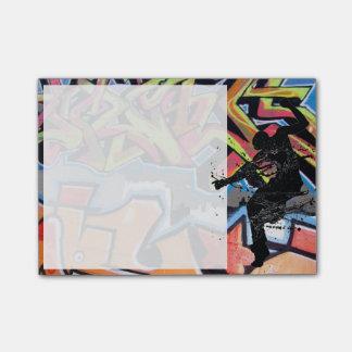 Pintada del bailarín de Hip Hop Nota Post-it®