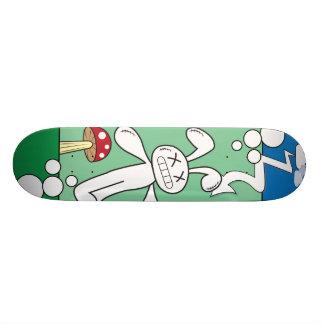 Pintada del conejito tablas de patinar