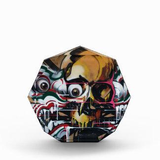 Pintada del cráneo de Bangkok