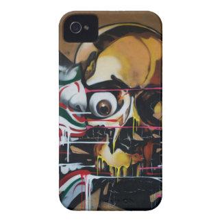 Pintada del cráneo de Bangkok Carcasa Para iPhone 4 De Case-Mate