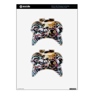 Pintada del cráneo de Bangkok Mando Xbox 360 Calcomanía