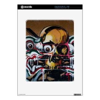 Pintada del cráneo de Bangkok Skins Para iPad
