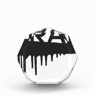 pintada del goteo de la trampa