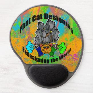 Pintada del logotipo de PCD Alfombrilla De Ratón Con Gel