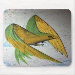 Pintada del pájaro, Basilea, Suiza Tapete De Raton