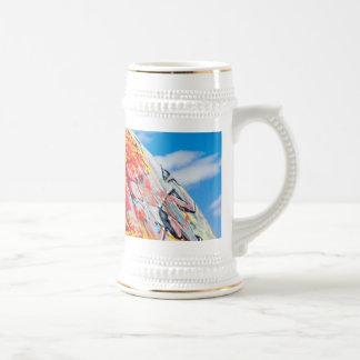 pintada del planeta jarra de cerveza