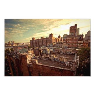 Pintada del tejado de Chinatown Arte Fotografico
