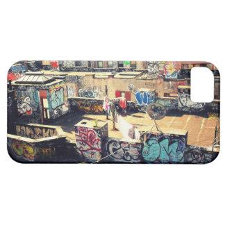 Pintada del tejado en Chinatown iPhone 5 Case-Mate Cárcasas