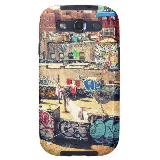 Pintada del tejado en Chinatown Samsung Galaxy S3 Carcasa