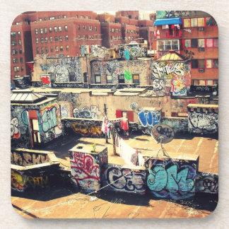 Pintada del tejado en Chinatown Posavaso