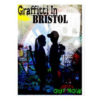 Pintada en Bristol Tarjetas Postales