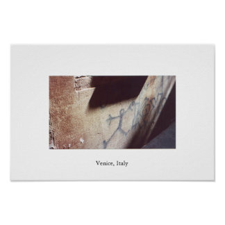Pintada en Venecia Posters
